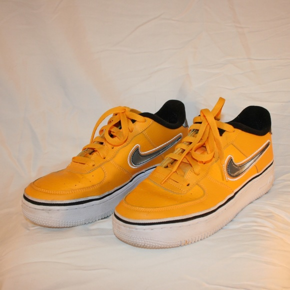 Nike Shoes | Mustard Yellow Air Force 1